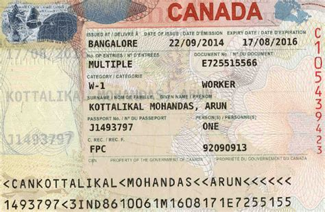 2 week processing for canadian visas and work permits