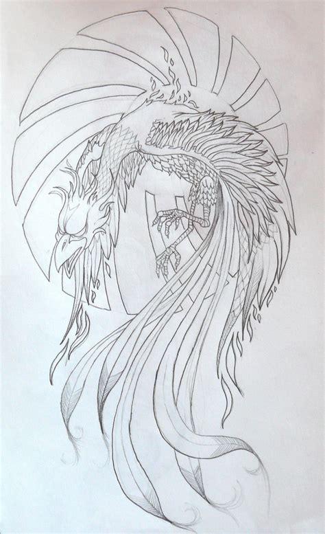tattoo phoenix sketch phoenix tattoo by zioman on deviantart