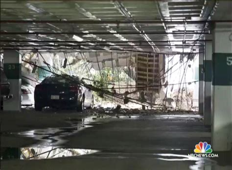 parking garage collapses at watergate complex in