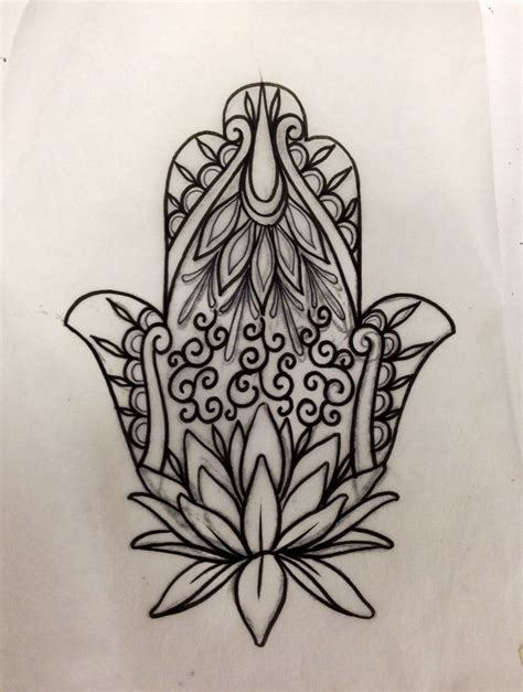 hamsa tattoo design my hamsa my style hamsa