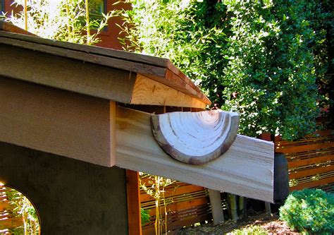 diy roof decorations how to make bamboo gutters
