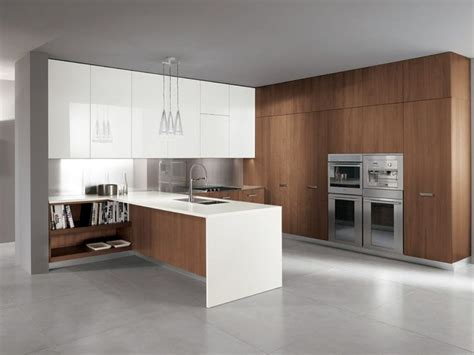 modern walnut kitchen cabinets walnut cabinets kitchen pinterest modern kitchen