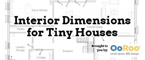tiny house dimensions tiny house interior dimensions