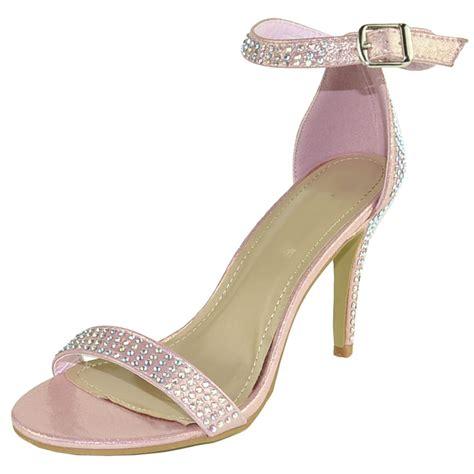 dress sandals womens high heel dress sandals rhinestone stud ankle