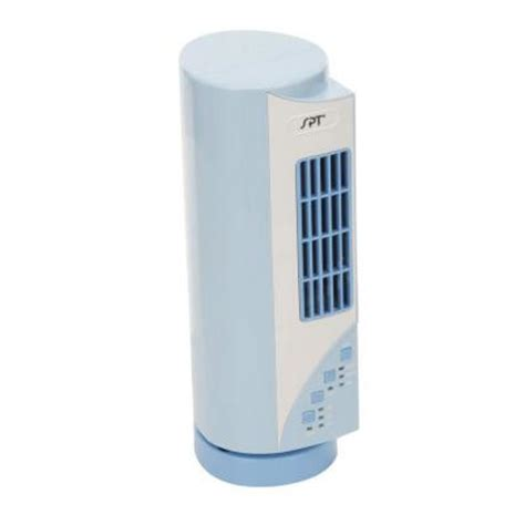spt 15 3 4 in oscillating mini tower fan sf 1530 the