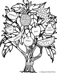 fruit of the spirit coloring pages fruit of the spirit 171 crafting the word of god