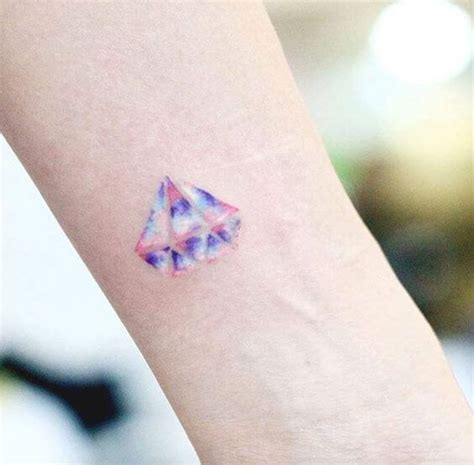 watercolor tattoo diamond wrist tattoos for ideas and designs for