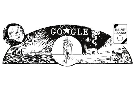 latitude doodle doodle celebrates famed adventurer fridtjof nansen