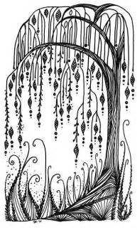 weeping tree doodle tattoo ideas central