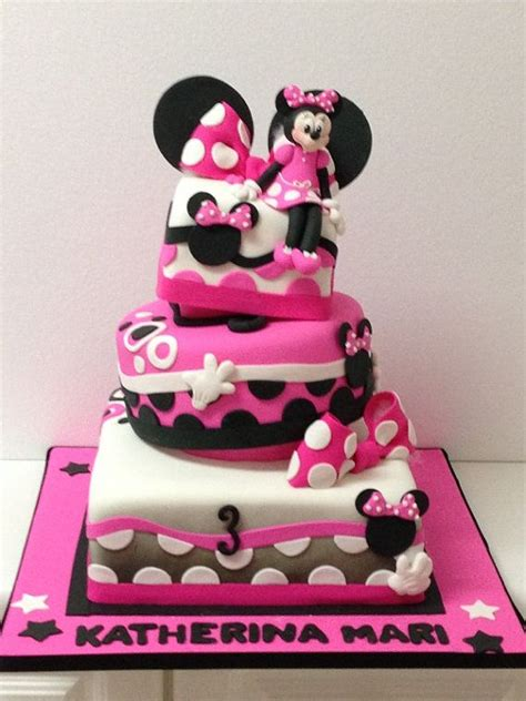 Topper Cake Minnie Mouse minnie mouse fondant cake topper set minnie mouse