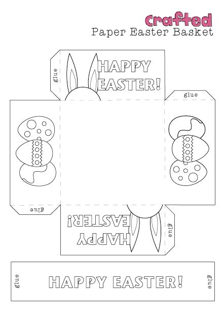 easter basket template easter baskets easter baskets easter crafts and easter