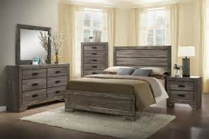 Gray Wood Nightstands Elements Nathan Bedroom Set Furniture Connexion