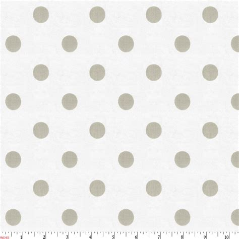 Gender Neutral Gifts by White And Taupe Polka Dot Fabric By The Yard Taupe