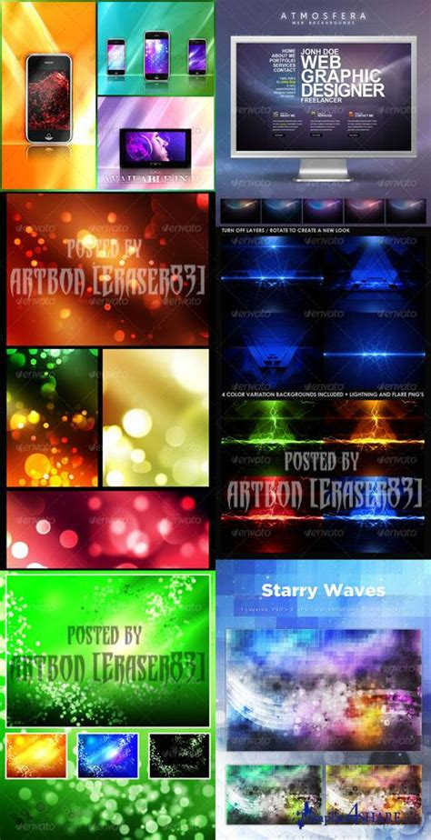 colorful wallpaper pack graphicriver colorful abstract backgrounds pack 2