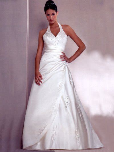 Halter Neck Wedding Dress by Halter Neck Prom And Wedding Dresses Sang Maestro