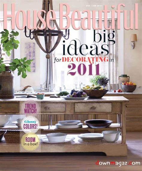 country homes interiors january 2011 187 download pdf magazines magazines commumity house beautiful december 2010 january 2011 187 download