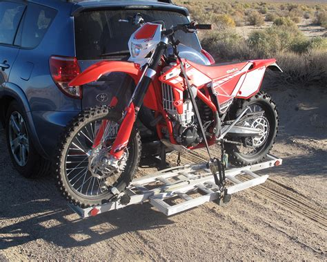 motocross bike carrier harbor freight haul master motorcycle carrier dirt bike test