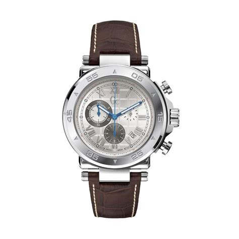 Jam Tangan Guess Collection Coklat harga gc jam tangan pria silver gc y02004g7 pricenia