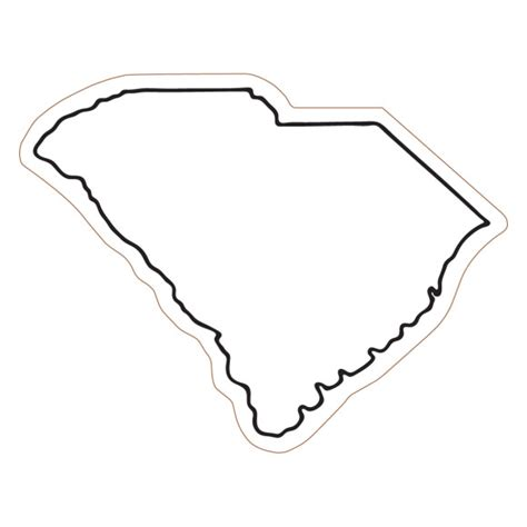 How To Draw The Outline Of Carolina by Sc Clipart Free Clip Free Clip On Clipart Library