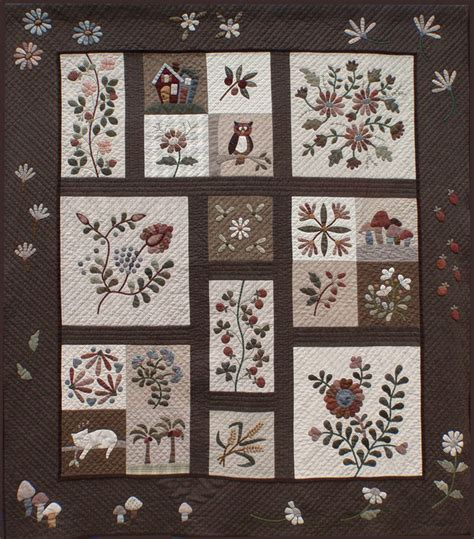 Japanese Patchwork Quilts - japanese applique quilts yoko saito quilt revealed