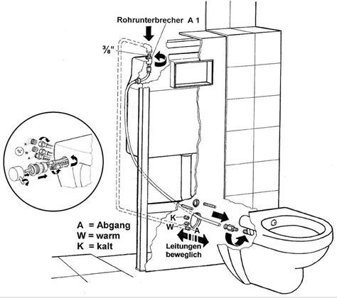 bidet montageanleitung temtasi dusch wc m a o strom toilette u bidet in einem