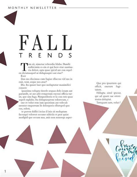 magazine layout principles 9 best pretty magazine layout design images on pinterest