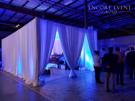 event draping company corporate event canopy draping cabanas encore event group