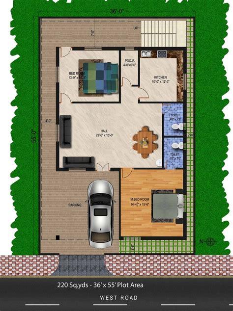 sqydsatx sqft west face house bhk floor planfor