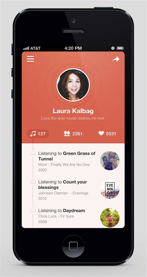 iphone layout app for android musixapp pixels apps and websites pinterest app