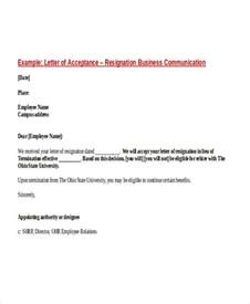 Business Communication Letter Definition 49 Resignation Letter Exles