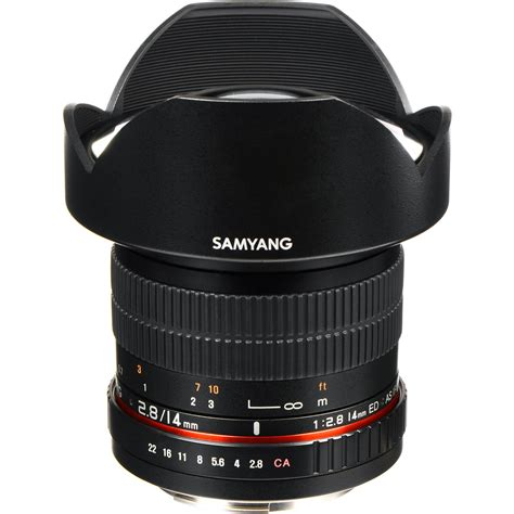samyang 14mm f 2 8 lens for canon samyang 14mm ultra wide angle f 2 8 if ed umc lens sy14m c b h