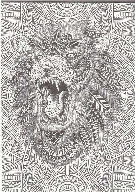 difficult lion coloring pages les mandalas d animaux le monde sauvage est tr 232 s riche la