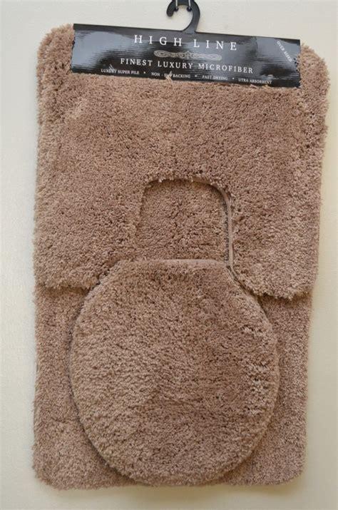 quality bathroom rugs plush 3 pcs bathroom rug set high quality beige green pink white mat new ebay
