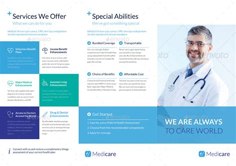 Medical Brochure Templates Brickhost F4a5ae85bc37 Healthcare Brochure Templates Free
