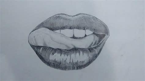 imagenes de labios a blanco y negro dibujando labios a lapiz youtube
