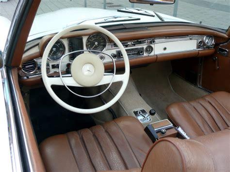 Mercedes 280sl Interior by Mercedes Sl 280sl 1969 Interior Classic Cars