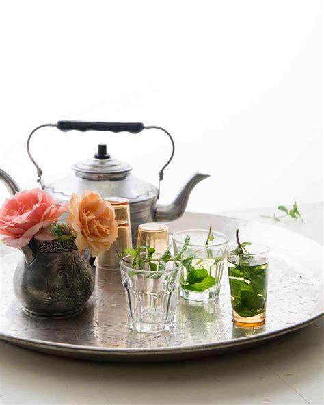 mint tea recipe leite s culinaria