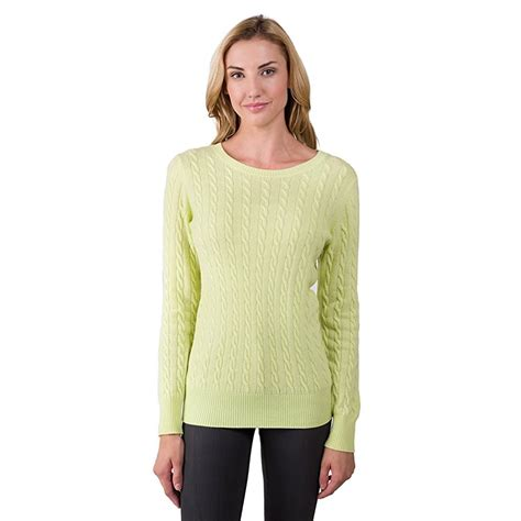 And Sweater 2 ply crew neck pullover sweater for
