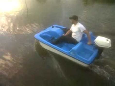 pelican 2 person paddle boat gotomgo 7hp pedal boat test drive youtube