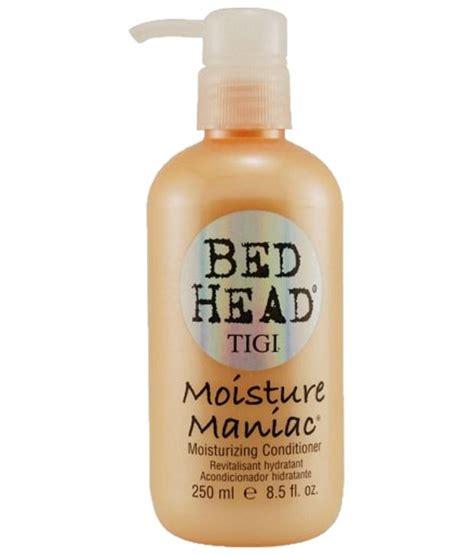 bed head moisture maniac tigi bed head moisture maniac conditioner for unisex conditioner 251 4ml buy tigi bed