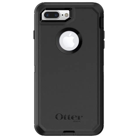 otterbox defender fitted shell for iphone 8 plus 7 plus black iphone 8 7 6s 6