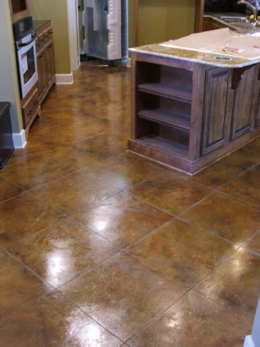 Decorating Concrete Floors by Decorative Concrete Floors Baltimore County Maryland