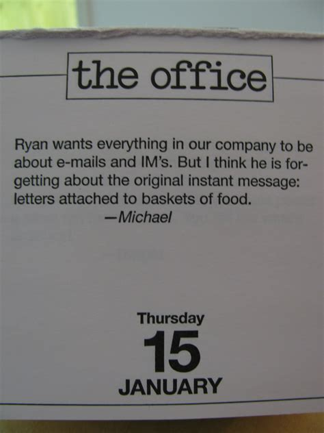 Quotes From The Office by Day Of The Office Quotes Quotesgram