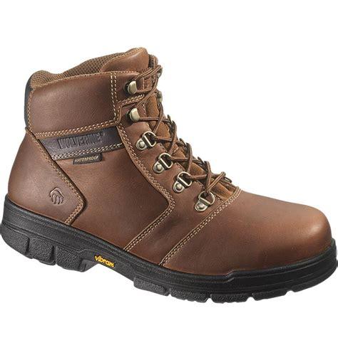 wolverines boots wolverine barkley 6 inch waterproof durashocks work boot