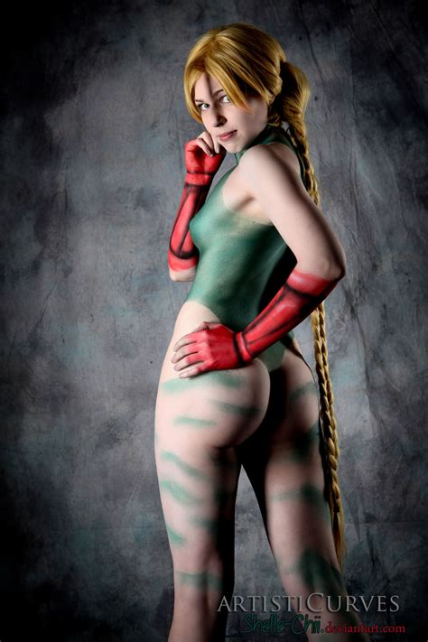 Cammy Body Paint By Shelle Chii On Deviantart