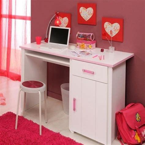 bureau enfant fille bureau blanc et pour chambre fille l 121 x h 77 x p