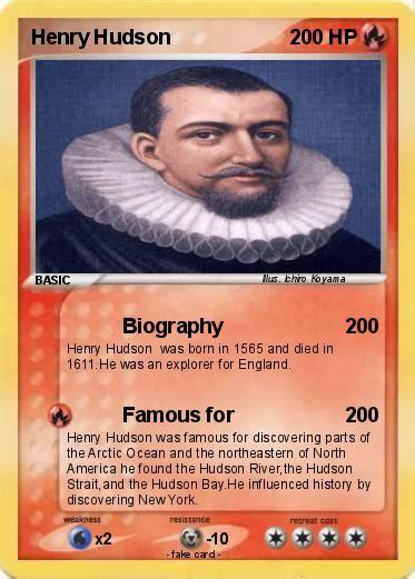 biography henry hudson pok 233 mon henry hudson 41 41 biography my pokemon card