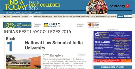 What Calendar Do They Use In India India Today S College Rankings 2016 Coin Tosses Would
