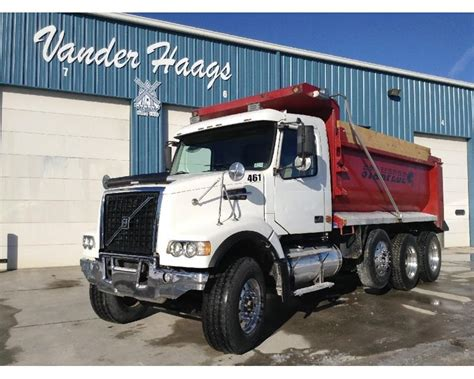 heavy duty volvo 2005 volvo vhd64f200 heavy duty dump truck for sale des