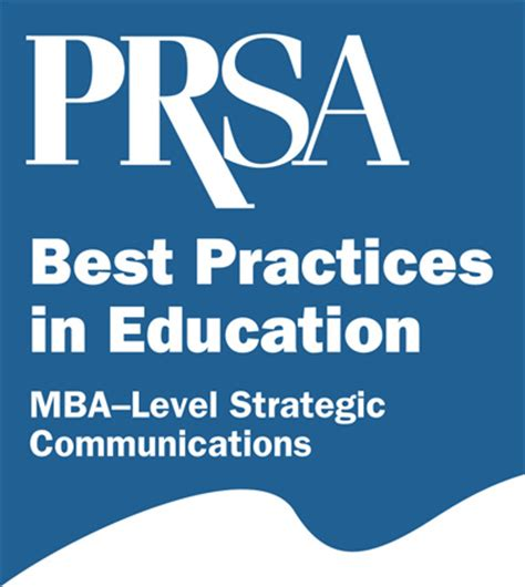 Mba Strategy Schools by Pr Communications Courses For Mba Programs Prsa